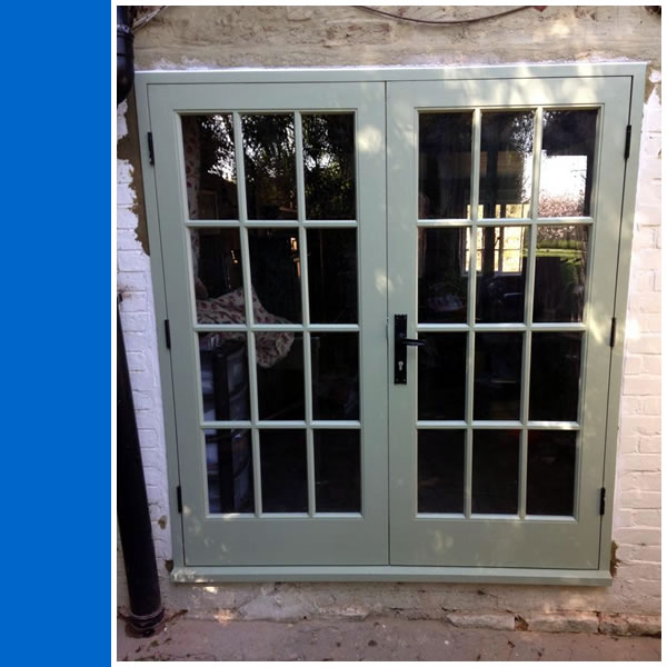 Photo of External Double Doors.