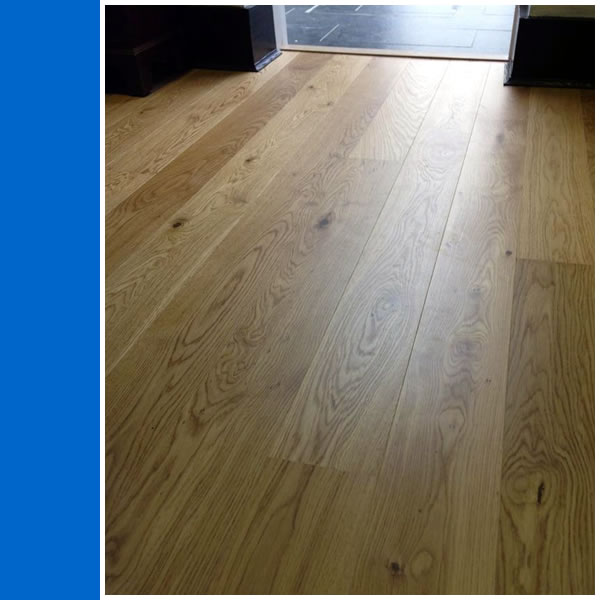 Photo of Solid Oak Floor in Ockley.