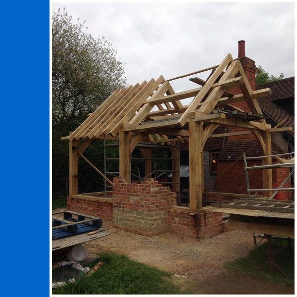 Oak Framed Building.