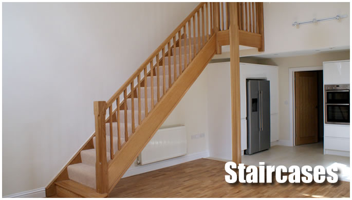 Staircases display image.