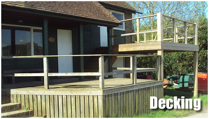 Decking display image.