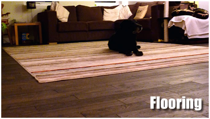 Flooring display image.