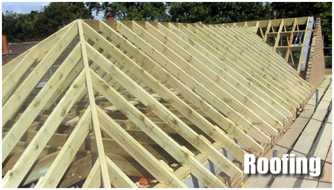Roofing display image.