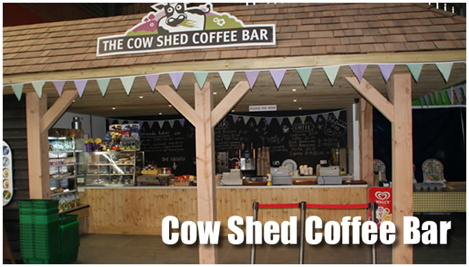 Cow Shed Coffee Bar display image.