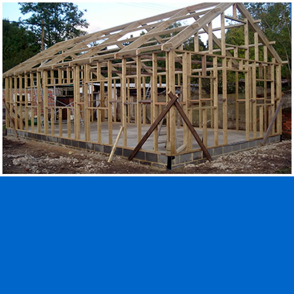 Photo of Timber frame outbuilding in Newdigate.